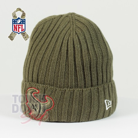 Bonnet Houston Texans NFL Salute To Service New Era - Touchdown Shop