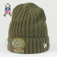 Bonnet Green Bay Packers NFL Salute To Service New Era - Touchdown Shop