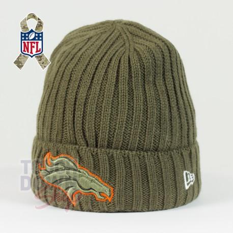Bonnet Denver Broncos NFL Salute To Service New Era - Touchdown Shop