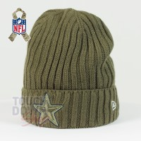 Bonnet Dallas Cowboys NFL Salute To Service New Era - Touchdown Shop