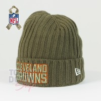 Bonnet Cleveland Browns NFL Salute To Service New Era - Touchdown Shop