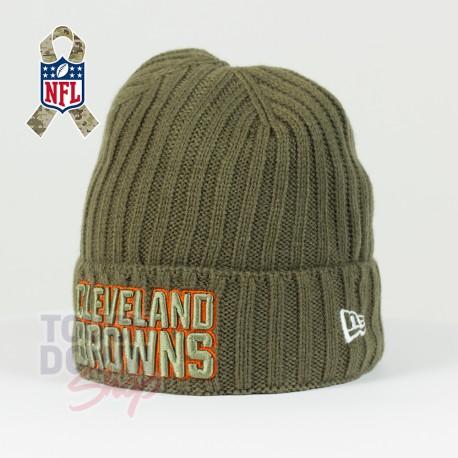 Bonnet Cleveland Browns NFL Salute To Service New Era - Touchdown Shop