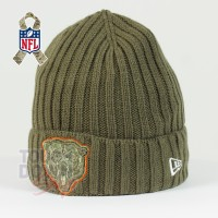 Bonnet Chicago Bears NFL Salute To Service New Era - Touchdown Shop