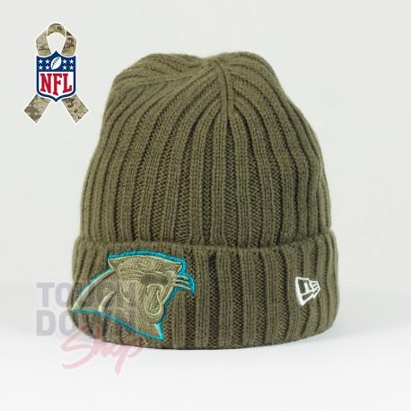 Bonnet Carolina Panthers NFL Salute To Service New Era - Touchdown Shop