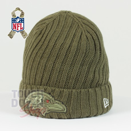 Bonnet Baltimore Ravens NFL Salute To Service New Era - Touchdown Shop