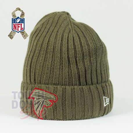Bonnet Atlanta Falcons NFL Salute To Service New Era - Touchdown Shop