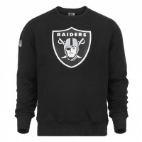Sweat crew New Era team logo NFL Oakland Raiders - Touchdown shop