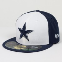 Casquette New Era 59FIFTY Fitted authentic on field NFL Dallas Cowboys