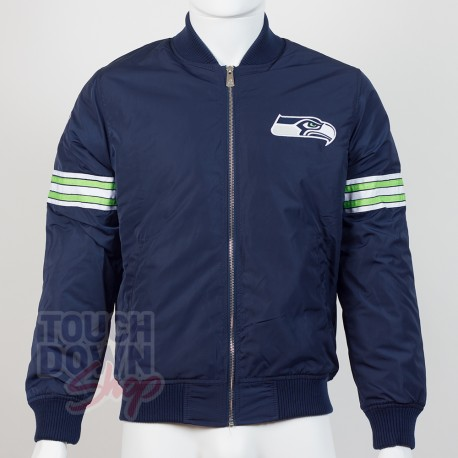 Bomber Seattle Seahawks NFL Team apparel New Era - Touchdown Shop