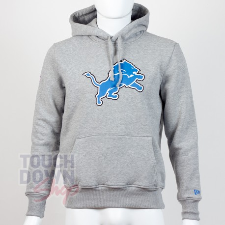 Sweat à capuche New Era team logo NFL Detroit Lions - Touchdown Shop