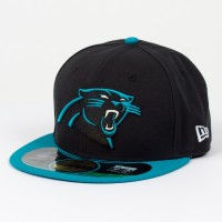 Casquette New Era 59FIFTY Fitted authentic on field NFL Carolina Panthers - Touchdown shop