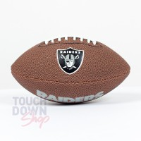 Mini ballon de Football Américain NFL Oakland Raiders