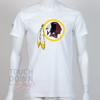 T-shirt New Era team logo NFL Washington Redskins blanc