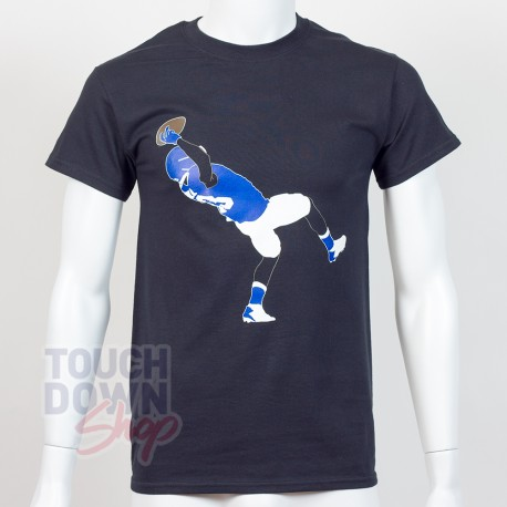 T-shirt Odell Beckham Jr. 13 New York Giants NFL Silhouette N&N Majestic - Touchdown Shop