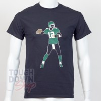 T-shirt Aaron Rodgers 12 Green Bay Packers NFL Silhouette N&N Majestic - Touchdown Shop