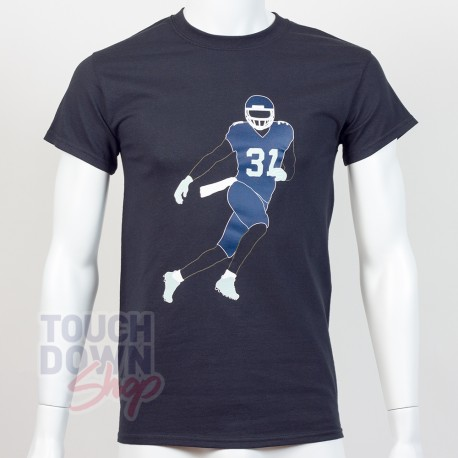 T-shirt Kam Chancellor 31 Seattle Seahawks NFL Silhouette N&N Majestic - Touchdown Shop