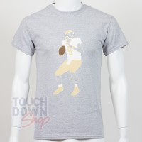 T-shirt Drew Brees 9 New Orleans Saints NFL Silhouette N&N Majestic - Touchdown Shop