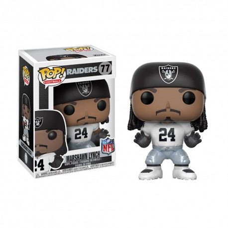 Figurine NFL Marshawn Lynch N°77 série 4 Funko POP - Touchdown Shop