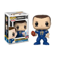 Figurine NFL Philip Rivers N°12 série 4 Funko POP - Touchdown Shop
