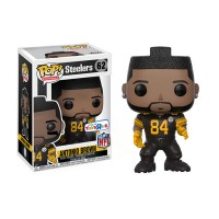 Figurine NFL Antonio Brown N°62 série 4 maillot noir Funko POP - Touchdown Shop