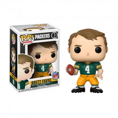 Figurine NFL Brett Favre N°83 série Legends Funko POP - Touchdown Shop