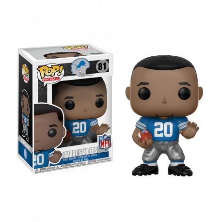 Figurine NFL Barry Sanders N°81 série Legends Funko POP - Touchdown Shop