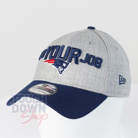 Casquette New England Patriots NFL Draft 2018 39THIRTY New Era - Touchdown Shop