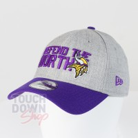 Casquette Minnesota Vikings NFL Draft 2018 39THIRTY New Era - Touchdown Shop