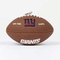 Mini ballon de Football Américain NFL New York Giants
