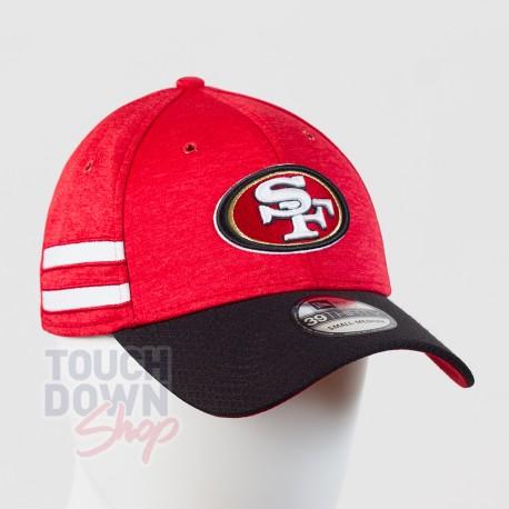 Casquette San Francisco 49ers NFL Sideline home 39THIRTY New Era - Touchdown Shop