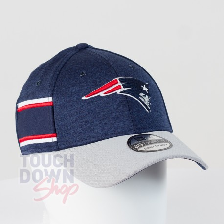 Casquette New England Patriots NFL Sideline home 39THIRTY New Era - Touchdown Shop