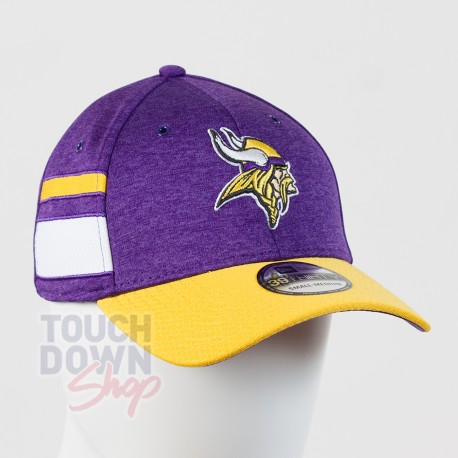Casquette Minnesota Vikings NFL Sideline home 39THIRTY New Era - Touchdown Shop
