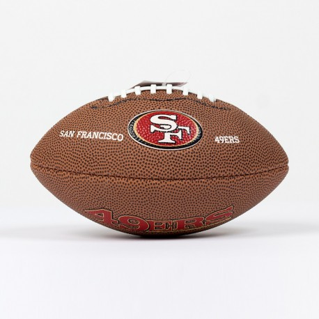 Mini ballon NFL San Francisco 49ers - Touchdown shop