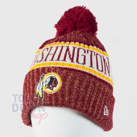 Bonnet Washington Redskins NFL On Field 2018 sport New Era - Touchdown Shop 25a5129f0cb9