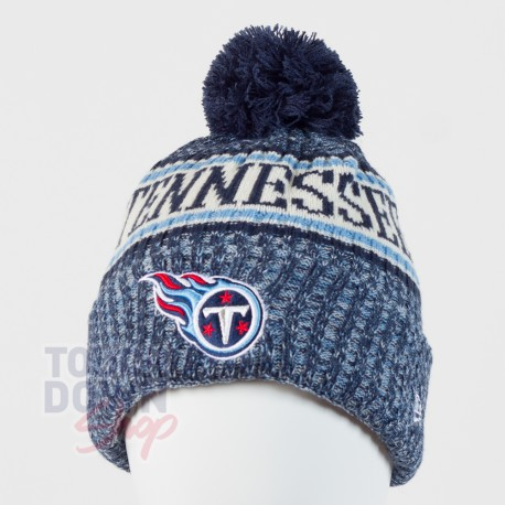 Bonnet Tennessee Titans NFL On Field 2018 sport New Era - Touchdown Shop