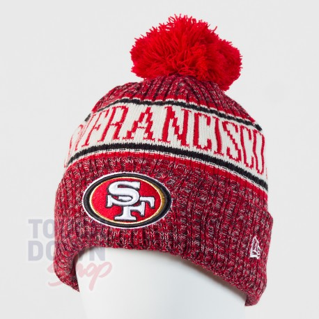 Bonnet San Francisco 49ers NFL On Field 2018 sport New Era - Touchdown Shop