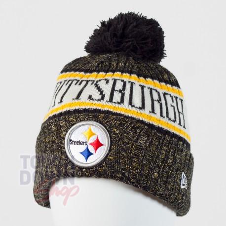 Bonnet Pittsburgh Steelers NFL On Field 2018 sport New Era - Touchdown Shop 8f381dcba62c