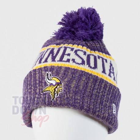 Bonnet Minnesota Vikings NFL On Field 2018 sport New Era - Touchdown Shop