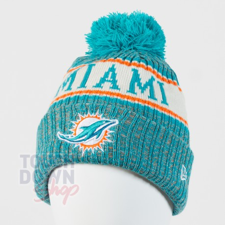 Bonnet Miami Dolphins NFL On Field 2018 sport New Era - Touchdown Shop