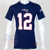 Jersey supporter Tom Brady 12 New england Patriots NFL Moro N&N 2019
