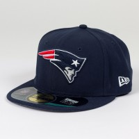 Casquette New Era 59FIFTY Fitted authentic on field NFL New England Patriots
