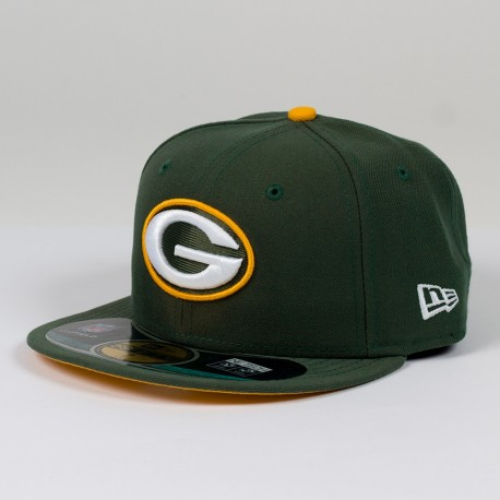 Casquette New Era 59FIFTY Fitted authentic on field NFL Green Bay Packers - Touchdown shop