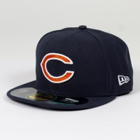 Casquette New Era 59FIFTY Fitted authentic on field NFL Chicago Bears