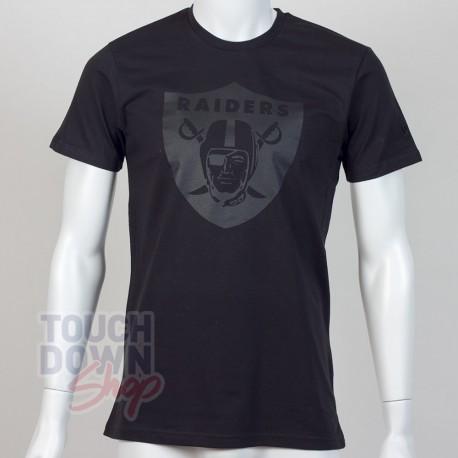 T-shirt Oakland Raiders NFL tonal black New Era - Touchdown Shop