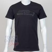 T-shirt Seattle Seahawks NFL tonal black New Era - Touchdown Shop