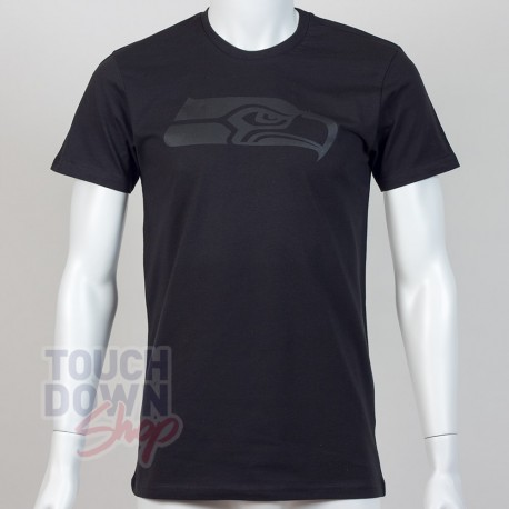 T-shirt Seattle Seahawks NFL tonal black New Era - Touchdown Shop