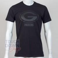 T-shirt Green Bay Packers NFL tonal black New Era - Touchdown Shop