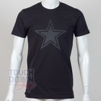 T-shirt Dallas Cowboys NFL tonal black New Era - Touchdown Shop
