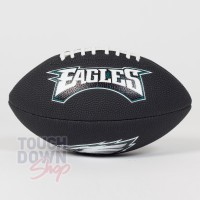 Mini ballon NFL Philadelphia Eagles noir - Touchdown Shop