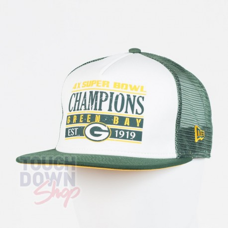 Casquette Green Bay Packers NFL champions 9FIFTY snapback New Era - Touchdown Shop